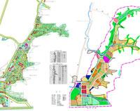 All land use planning of Sunny Shun City, Jinan