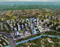 沈阳浑南营城新城概念规划及城市设计