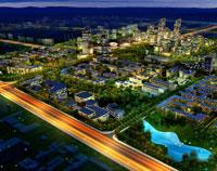 Chengdong District Urban Design,  Xining, China
