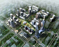 Financial CBD, Tangshan, China