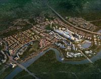 鄂尔多斯东康国际城概念规划及城市设计